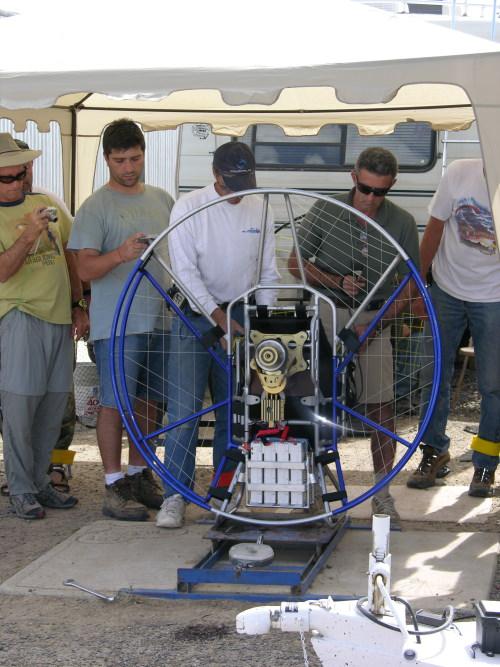 Csaba Lemak Electric Paramotor Developments